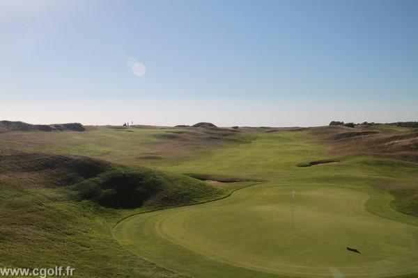 greens n°9 et 18 du golf de Saint-Jean-de-Monts en Vendée Pays de Loire
