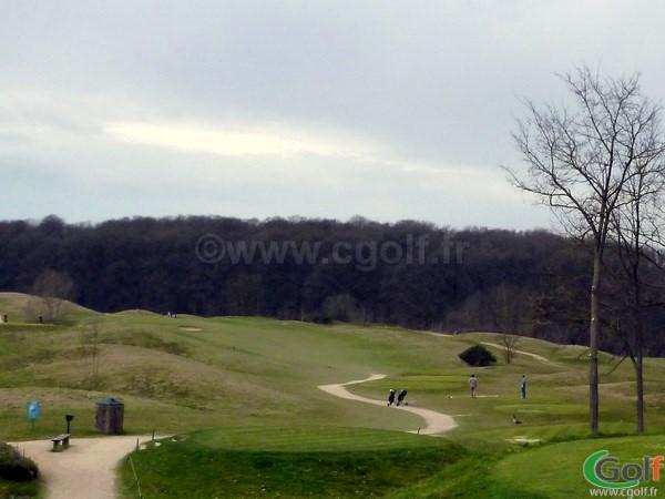 Départ n°1 du golf de Saint-Marc à Jouy-en-Josas dans les Yvelines à Paris