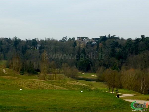 Le départ n°10 du golf de Saint-Marc proche de Versailles dans les Yvelines à Paris