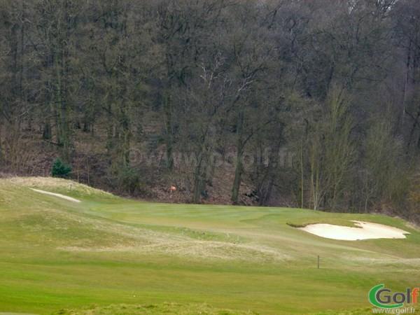 Le green n°17 du golf de Saint-Marc à Jouy-en-Josas dans les Yvelines proche de Versailles