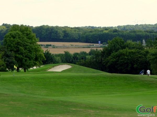 Green n°2 du golf de Salouel proche d'Amiens en Picardie dans la Somme