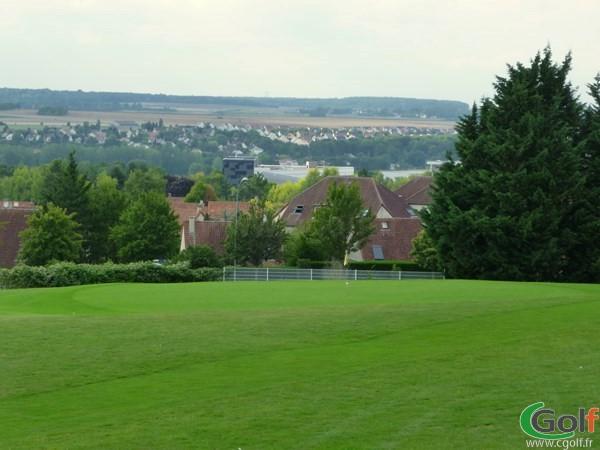 Green n°5 du golf de Salouel en Picardie dans la Somme proche d'Amiens