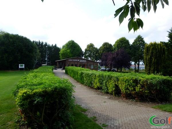Club house du golf de Salouel en Picardie dans la Somme à proximité d'Amiens