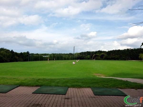 Practice du golf de Salouel proche d'Amiens en Picardie dans la Somme