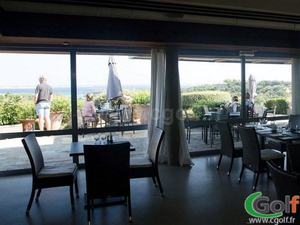 Le restaurant du golf de Sperone à Bonifacio en Corse