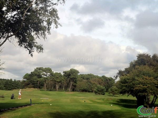 Départ du golf du Touquet Parcours La Forêt en Nord-Pas-de-Calais sur la Côte d'Opale