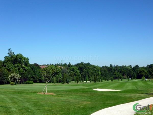 Green n°18 du golf de Salvagny en Rhône Alpes dans la banlieu lyonnaise