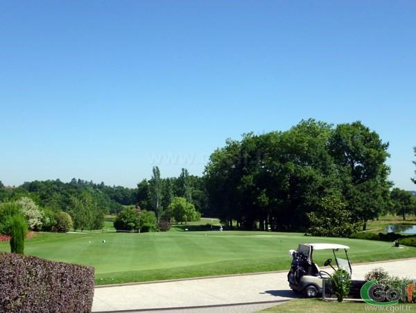 Putting green du golf de Salvagny proche de Lyon en Rhône Alpes