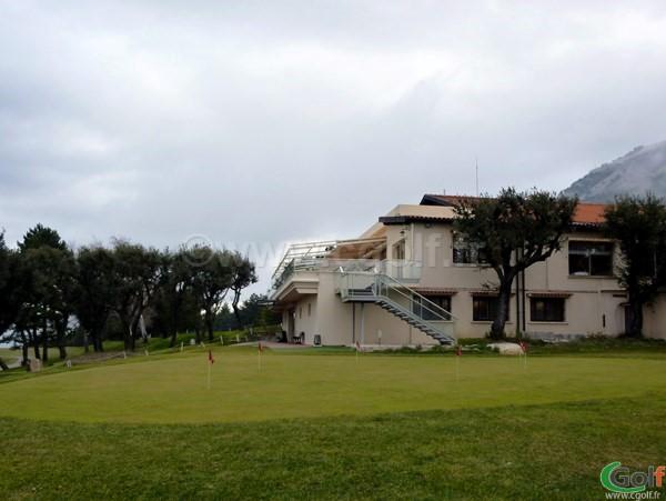 Le club house du golf de La Turbie proche de Monaco dans les Alpes Maritimes