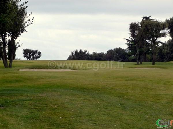 Un par 3 du golf de La Turbie proche de Monaco sur la Cote d'Azur