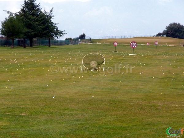 Le practice du golf de La Turbie proche de Monaco dans le 06 en PACA