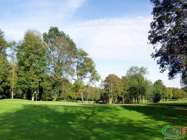 Le green n°18 du golf de Val-de-l'Indre dans la région Centre à Villedieu-sur-Indre