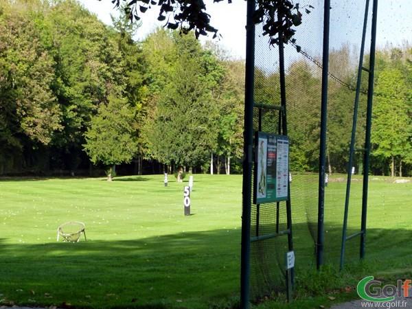 Le practice du golf de Val-de-l'indre à Villedieu dans l'Indre région Centre