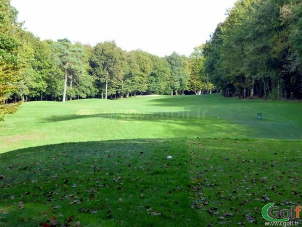 Le départ n°3 du golf de Val-de-l'Indre dans le Centre de la France à Villedieu