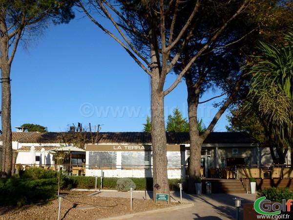 Le club house du golf de Valgarde à La Garde proche de Toulon dans le Var en PACA