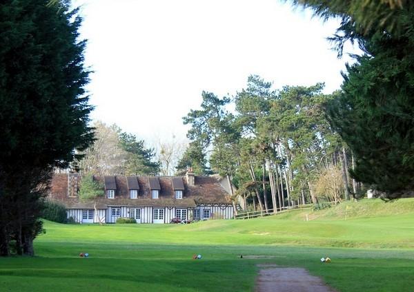 Départ n°18 du golf de Caourg Varaville Le Home dans le Calvados en Normandie