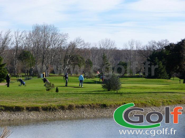 Green 10 du Garden Golf - Avignon