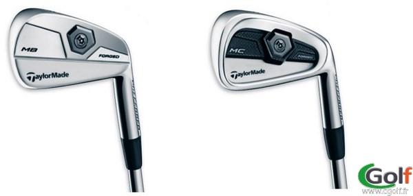 exemple de fer de golf parmi une série de club, un fer n°4