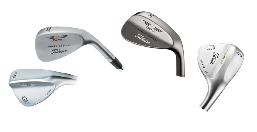 les differents types de wedge, sand-wedge, pitching-wedge, gap-wedge, lob-wedge